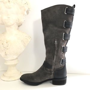 Sole Society Franzie Suede Leather Knee High Boot